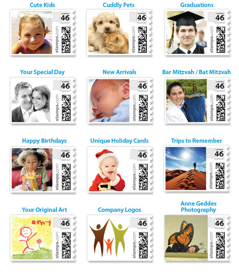 PhotoStamps.com >> Make your own postage | Print MIS | Scoop.it