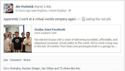 New World Notes: Facebook Employees Who Created Second Life Celebrate Facebook Becoming Virtual Worlds Company | Logicamp.org | Scoop.it