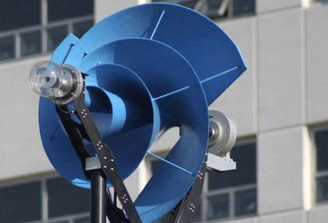 Eolienne en spirale | actualité optimiste pour ... | ENERLAB TRANSITION ENERGETIQUE | Scoop.it