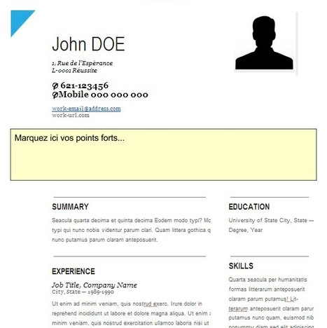 CV-Creative - GoogleDrive   21st Century Tools for Teaching-People and Learners   Scoop.it
