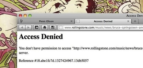 That Ain't Very Rock 'n' Roll! Rolling Stone Website Blocks Itself in China | Tech in Asia | Tracking Transmedia | Scoop.it