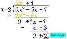 Remainder Theorem | Advanced Functions | Remainder Theorem | Scoop.it