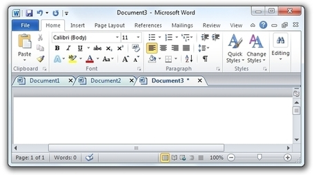 Office Tab – Des onglets sous Word, Excel et Powerpoint (Office) | formation 2.0 | Scoop.it