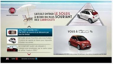 M6 Publicité et Fiat innovent avec 6 spots interactifs sur HbbTV | TV Connectée,  IPTV,  HBBTV, VOD | La TV connectée et le commerce by JodeeTV | Scoop.it