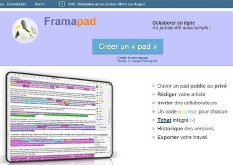 Framapad : outil collaboratif | Trucs&Astuces : veille2.0 | Scoop.it