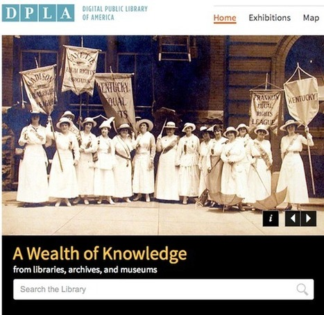 Digital Public Library of America: A Great idea becomes a reality - Day News   Libraries & Archives 101   Scoop.it