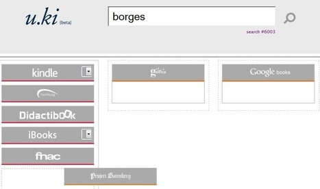 Un nouvel outil pour chercher des livres numériques | Enssib | La lecture numérique | Scoop.it