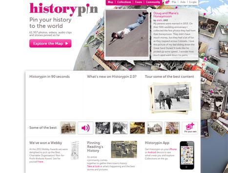 Historypin | Explorez le monde à travers des clichés historiques | Actualités - Nouveaux sites web & outils ! | Scoop.it