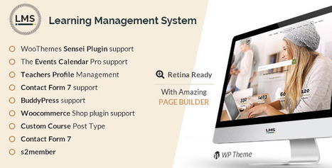 Download: LMS v1.3 - Responsive Learning Management System - Null It | Free Word Press Theme & Plugins. | Scoop.it