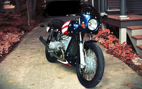 Captain America | Cafe racers chronicles | Scoop.it