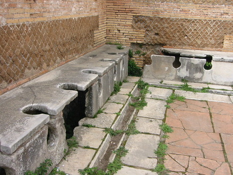 Ancient Links: Plumbing and Toilets in Ancient Rome | Ancient cities | Scoop.it