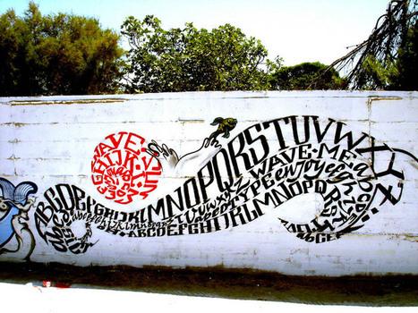 'Calligraffiti' by Greg Papagrigoriou [25pics] | Calligraphy | Scoop.it