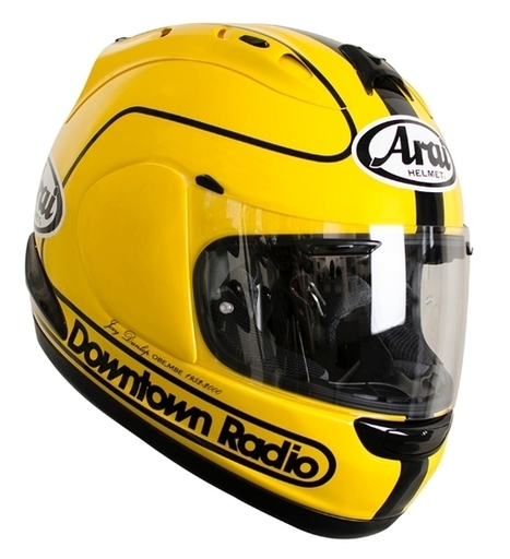 New Arai Limited Edition Joey Dunlop 1985 Replica | Motorcycle Industry News | Scoop.it