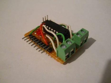 $1 Motor Driver Circuit For Arduino | Arduino, Netduino, Rasperry Pi! | Scoop.it