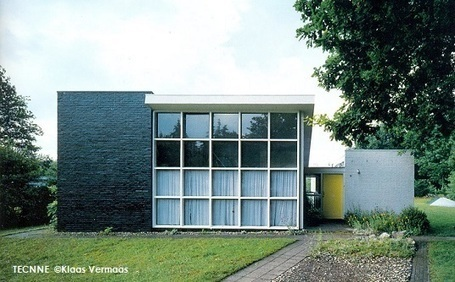 Gerrit Rietveld, Casa Slegers | TECNNE - Arquitectura y contextos | Marcelo Gardinetti | Scoop.it