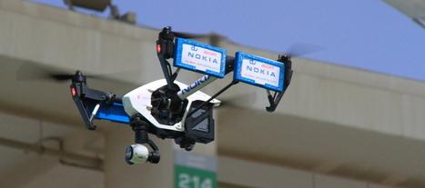 Les drones se mettent au service des opérateurs télécoms   Une nouvelle civilisation de Robots   Scoop.it