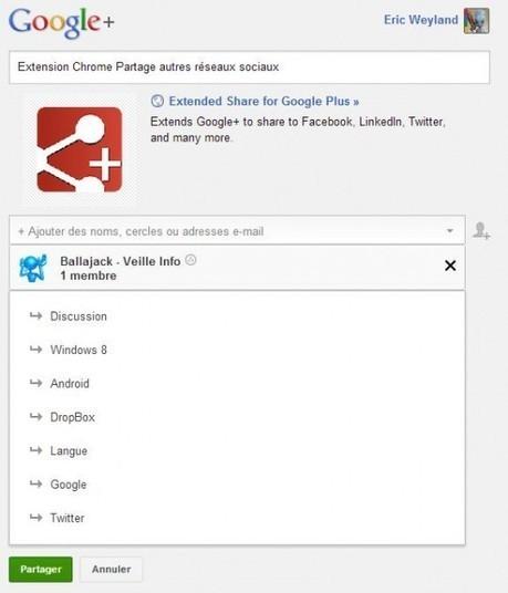 Utiliser les communautés sur Google+ pour organiser sa veille technologique | Ballajack | Veille en médiathèque | Scoop.it