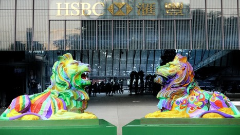 Hong Kong rainbow lions spark LGBT rights debate | PinkieB.com | Gay and Lesbian Life | Scoop.it