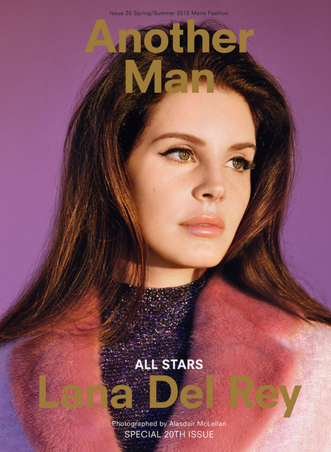 Trends / Celebrity: Lana del Rey - Another Man Cover - Style.com | Lana Del Rey - Lizzy Grant | Scoop.it