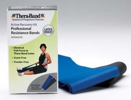Thera-Band 6' Combo Pack- Heavy Latex-Free * Exercise & Physical Therapy * Thera-Band Exercise Band * 20065G | Durable Medical Equipment | Scoop.it
