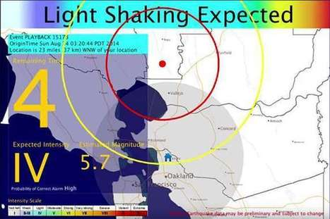 Earthquake early warning system moves closer to reality | Sustain Our Earth | Scoop.it