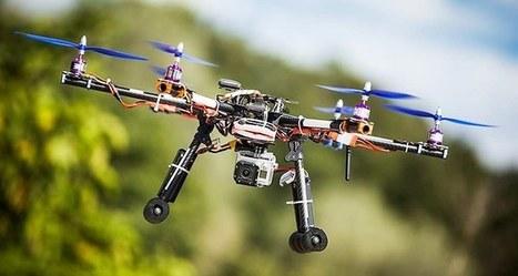 Salon du Bourget: Les ambitions des drones civils | World of Drones  -  UAV, UAS, sUAS, RPAS, VANT | Scoop.it