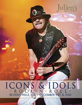 2012 Icons and Idols: Rock 'n Roll Auction - Julien's Auctions | Millenniumplus: News, Music & Entertainment | Scoop.it