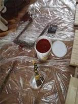 Fabriquer une peinture éconologique : la peinture à l'ocre pour les volets… et plus si affinité | Gite et Landes | Scoop.it