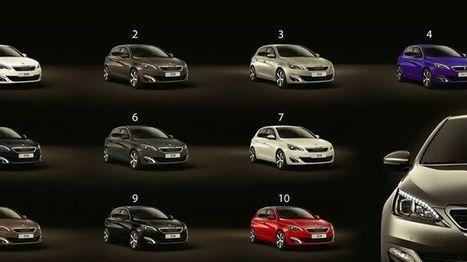 Quel est votre couleur de Peugeot 308 pr&eacute;f&eacute;r&eacute;e? <br/>Pour plus d'informations sur le... | Tout savoir le constructeur automobile Peugeot | Scoop.it