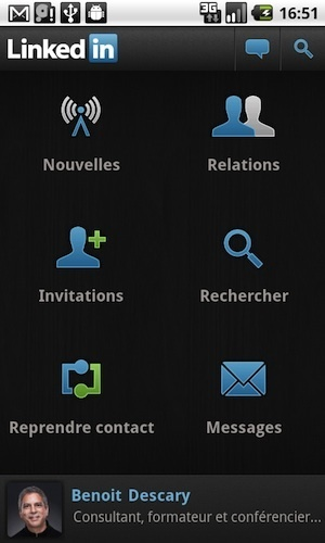 Linkedin pour Android est disponible | Descary.com | Time to Learn | Scoop.it