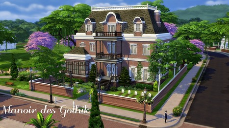 39 maison 39 in les sims page 2 for Exterieur sims 4
