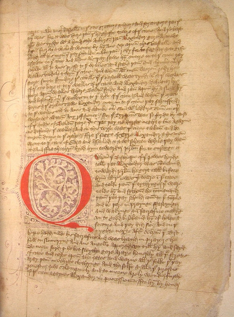 Lincoln Cathedral donates medieval script for historical scholarship - The Lincolnite | Literary News | Scoop.it