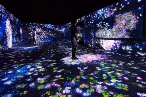 Le collectif japonais teamLab installe 15 créations numériques permanentes à l'ArtScience Museum de Singapour | Art contemporain, photo & multimédias | Scoop.it