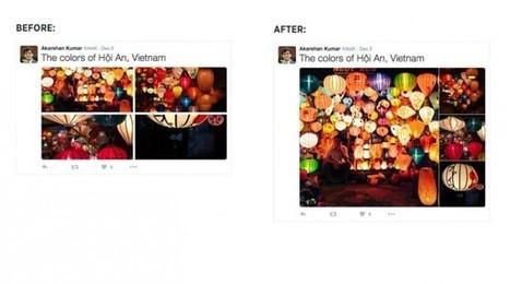#Twitter : les images ne sont plus cropées dans la Timeline et les albums sont plus visuels | Social media | Scoop.it
