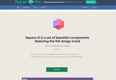 25 Flat UI Kits to Boost Your Designs | Tools and Plugins | Scoop.it