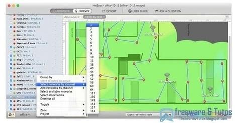 Netspot : analyser et régler son réseau wifi ~ Freewares & Tutos   L'e-Space Multimédia   Scoop.it