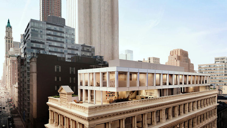 Check Out the Condos Being Built On the Roof of a Historic NYC Building | Homes | Scoop.it