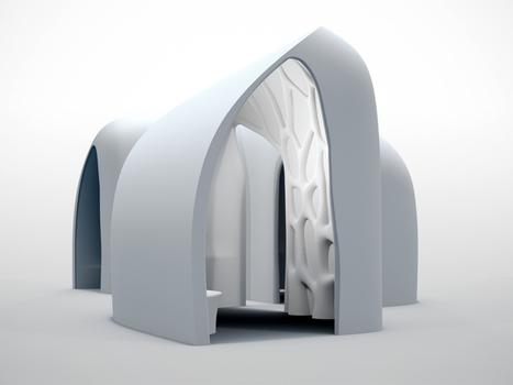 Impression 3D en béton - Batijournal | Univers cellule agile robotisée | Scoop.it