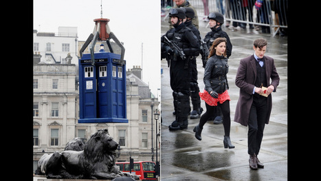 Big Picture: Doctor Who in Trafalgar Square - BBC News | The TARDIS Speaker | Scoop.it