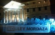 First Hologram Protest in History Held Against Spain's Gag Law | Vloasis awesome sauce | Scoop.it