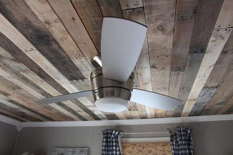 Forum | DIY: Rustic Pallet Wood Ceiling | DIY | Scoop.it