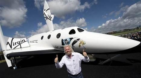 NBC to air Virgin Galactic founder Richard Branson's trek to space | TODAY.com | Alastair | Scoop.it