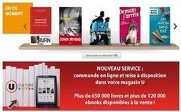 Système U affronte Amazon et Fnac.com sur le livre et l'e-book   Bibliothèques   Scoop.it