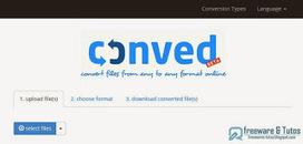 Conved : un nouvel outil de conversion de fichiers en ligne | Bazaar | Scoop.it