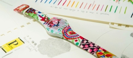 Swatch, trois décennies d'art contemporain au poignet | Aubusson - tapestry - textile - art | Scoop.it