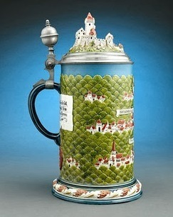 My Antique World: Antique 20th century Rodenstein Mettlach Beer Stein | Antique world | Scoop.it