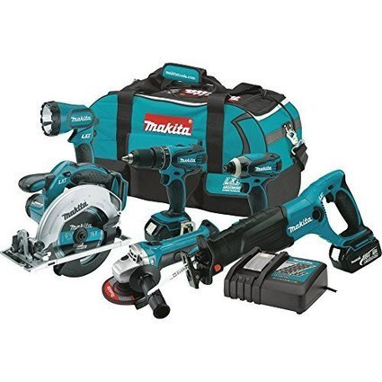 Makita XT601 18-volt LXT Lithium-Ion Cordless Combo Kit, 6-Piece - Major Tools | Nothing But News | Scoop.it