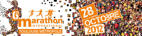 Marathon de Toulouse Métropole le 28 octobre 2012 | Toulouse La Ville Rose | Scoop.it