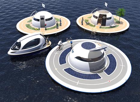 UFO Boat Concept | Innovation dans l'Immobilier, le BTP, la Ville, le Cadre de vie, l'Environnement... | Scoop.it