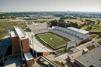 Nation's first LEED Platinum designation for collegiate stadium goes to UNT's Apogee Stadium | News | University of North Texas | Sports Facility Management 4214050 | Scoop.it